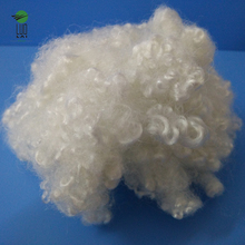 15d recycled chemical 100% polyester fiber raw material for toys