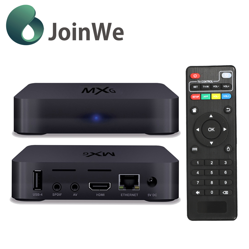 Newest XBMC& KODI fully loaded Quad-Core Android 4.4 Kitkat smart android tv box Amlogic S805
