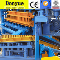German QT4-15 no manual color paving interlock brick block making machine for best sale