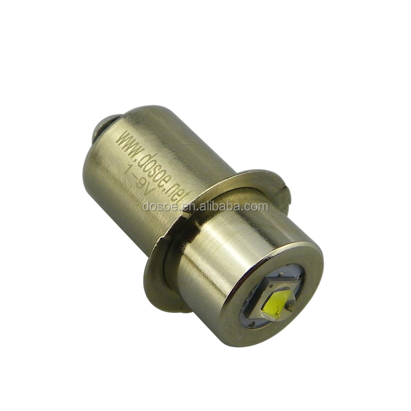 Mini 410nm UV LED flashlight bulb/LED flashlight upgrade bulb