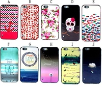 Fashion 2 in 1 Detachable Colorful Pattern Phone Case for iPhone 6 plus Case