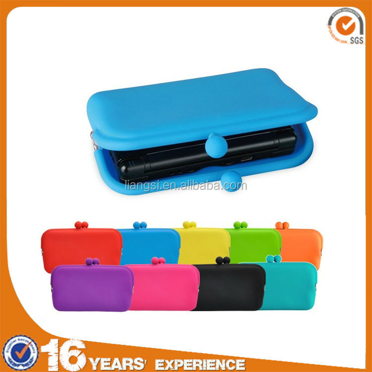 2014 Newest waterproof wholesale silicone phone wallet for ladies