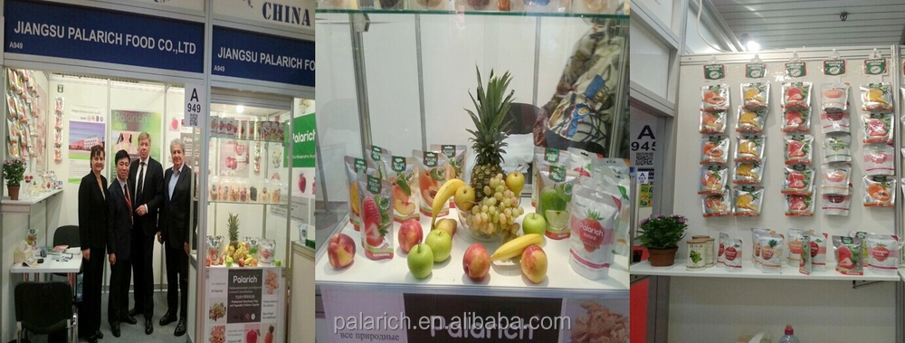 Palarich freeze dried apple chips just fruit with natural color