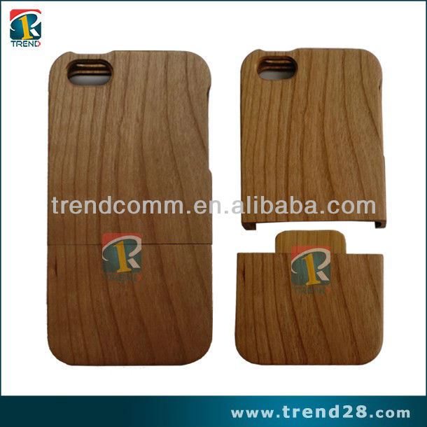 Creative Designed Wooden Case for iPhone5