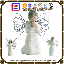prayer of peace Angel resin Statue