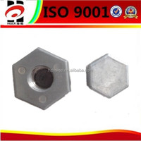 zinc cap/zinc nut/zinc screws