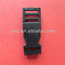 Soecial double adjuster plastic side release buckle 25mm side release buckle