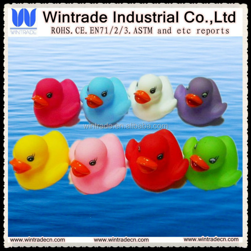6CM mini plastic duck/bath floating small duck toy