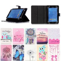 For ipad mini 4 case, 2016 new Cute printing Wallet leather case for ipad mini 4