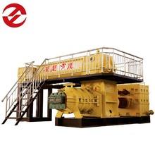China Clay Brick Machine Double Stage Vacuum Extruder For Red Block