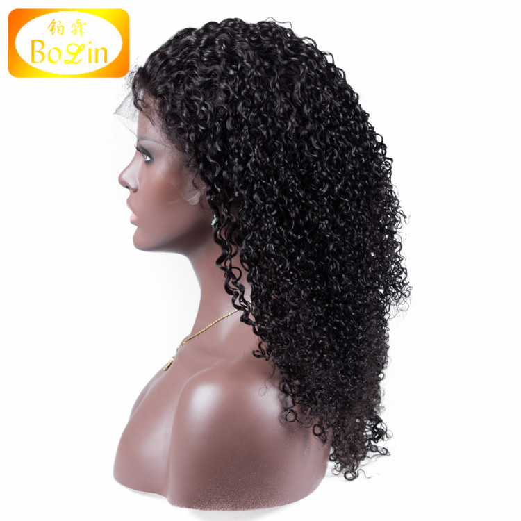 Brazilian Full Lace Human Hair Wigs for Black Women Jerry Curly Human Hair Wigs With Baby Hair Glueless Full Lace Wig
