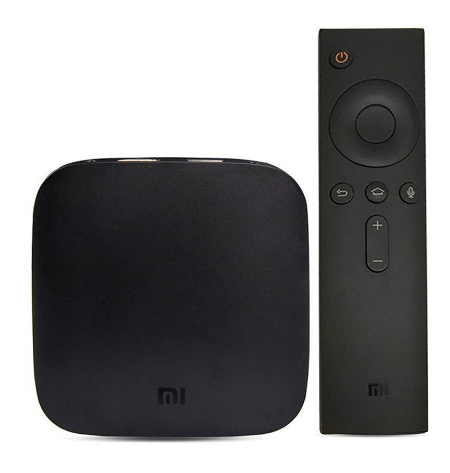 International Version MI BOX H.265 Android TV 6.0 Set top Box VP9 HDR Support DTS DolbyVoice Amlogic S905X quad core