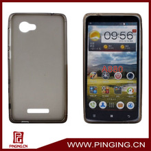 TPU soft case for lenovo a880 with dust plug