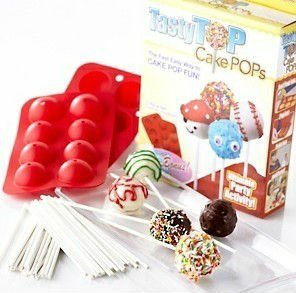 silicone non stick cake pop set mold baking tray mould buy cake pop mold round baking mould. Black Bedroom Furniture Sets. Home Design Ideas