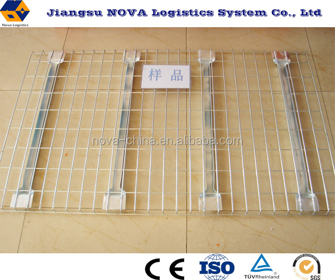 100*50 Galvanized welded steel wire mesh decking for pallet racking