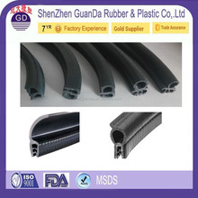 Direct factory OEM For 4 / 5 / 6 / 8 / 10 / 12 /15 mm airtight rubber seal for sliding door