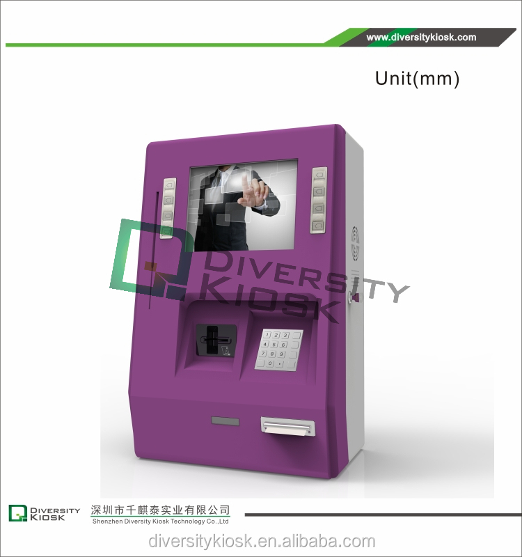 coin operated lockers cell phone charging machines touch kiosk standing