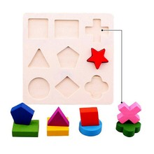 Kids Baby Wooden Learning Geometry Educational Toys Puzzle Montessori Early Learning Free Shipping