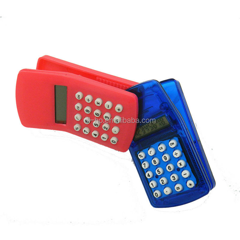 clip calculator ,8 DIGIT MINI FRIDGE MAGNET CLIP CALCULATOR
