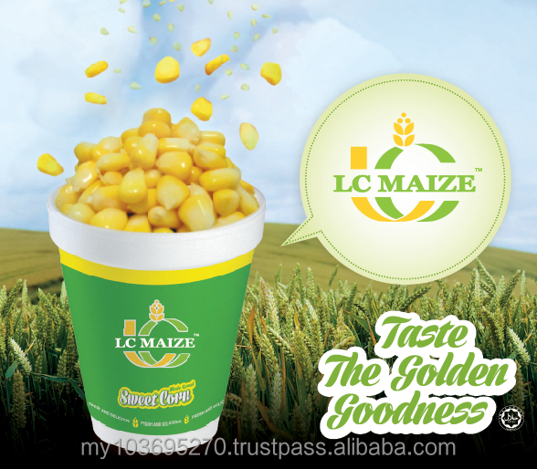 Non Cut Frozen Yellow Maize