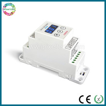 DC5V-24V, Short circuit/Over load protection 1CH CV DMX Decoder DIN-DMX-12A