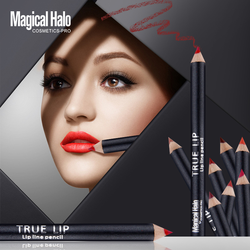 Professional full set 12pcs lip line pencil charming/exquisite lip
