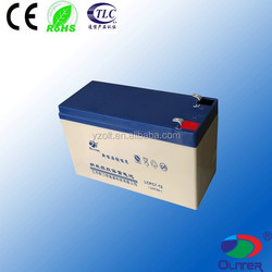 agm battery 12v 7ah sealed lead acid battery long life vrla battery