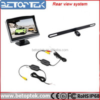 Car Reversing Aid Rear View System Rear Camera Wireless
