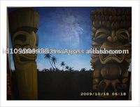 Best Quality Tiki Native Home Wall Art Decor Painting