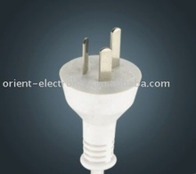 Argentina 3-pin plug with Power Cord