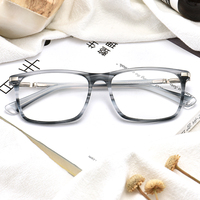 New latest fashion top design frame china eyeglasses eye glass frames acetate optical glasses Factory Direct In Stock