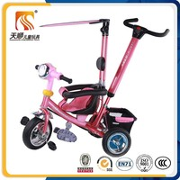 2016 kids 3 wheel pedal tricycle promotion high quality baby tricycle for sale