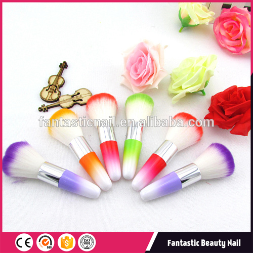 Hot Sell Tools , Professional Colorful Nail Dust Brush For Nail Care