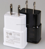 USB Wall Charger 5V 2A AC Travel Home Charger Adapter US Plug for Samsung Galaxy S3 S4 S5 I9600 Note 2 3 N9000