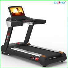 Professional gym equipment commercial treadmill 3HP ac continuous 6HP peak power