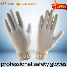 Latest Fashion Best Choice stylish garden pvc dotted cotton gloves