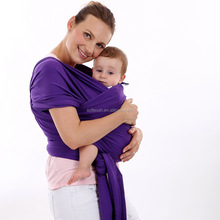 Factory direct sales solid baby sling carrier stretchy baby wrap carrier with cheap price