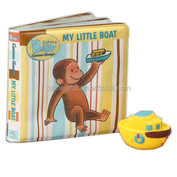 Novelty water bath book for infant