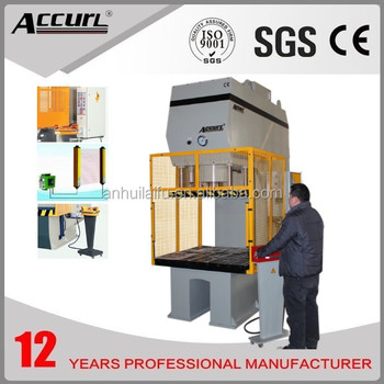 equipment for tunnel construction Hydraulic C Frame deep drawing Presses stainless steel pot production line press machine