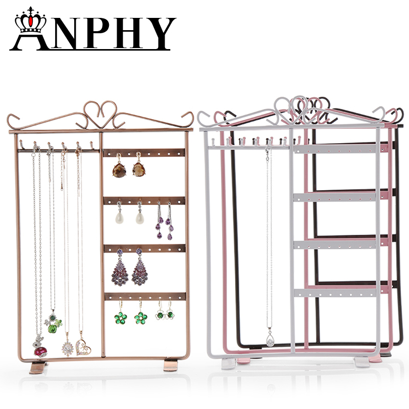 ANPHY A157 Girl Jewelry Rack Bedroom Jewelry Holder Household Jewelry Finding