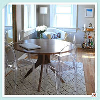 hot-sale acrylic furniture for dining room,clear acrylic chairs
