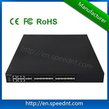 high speed 24 internet bar and enterprise fiber switch
