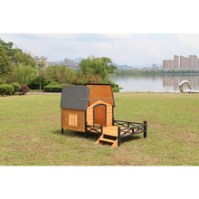 Novelty XXL Dog Cage Trap Wooden Pet House