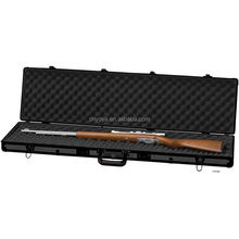 "Aluminum 44"" Rifle Shotgun Protection Gun Case, Black Padded Carrying Range Safe"