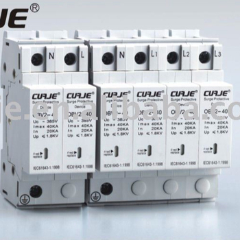 Industrial Power Surge Protector, lightning protection device, low voltage surge arrester