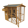 Big size wood chicken coop