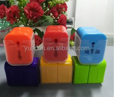 2017 best selling product in american for usb travel adapter promotion gifts