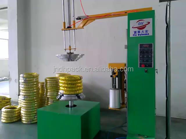 China real factory Tyre wrapping machine 008615215316080