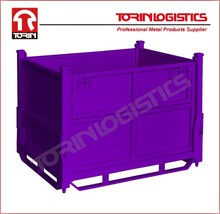 Evergreat Warehouse Foldable Steel Crate(L1000*W800 mm/OEM)
