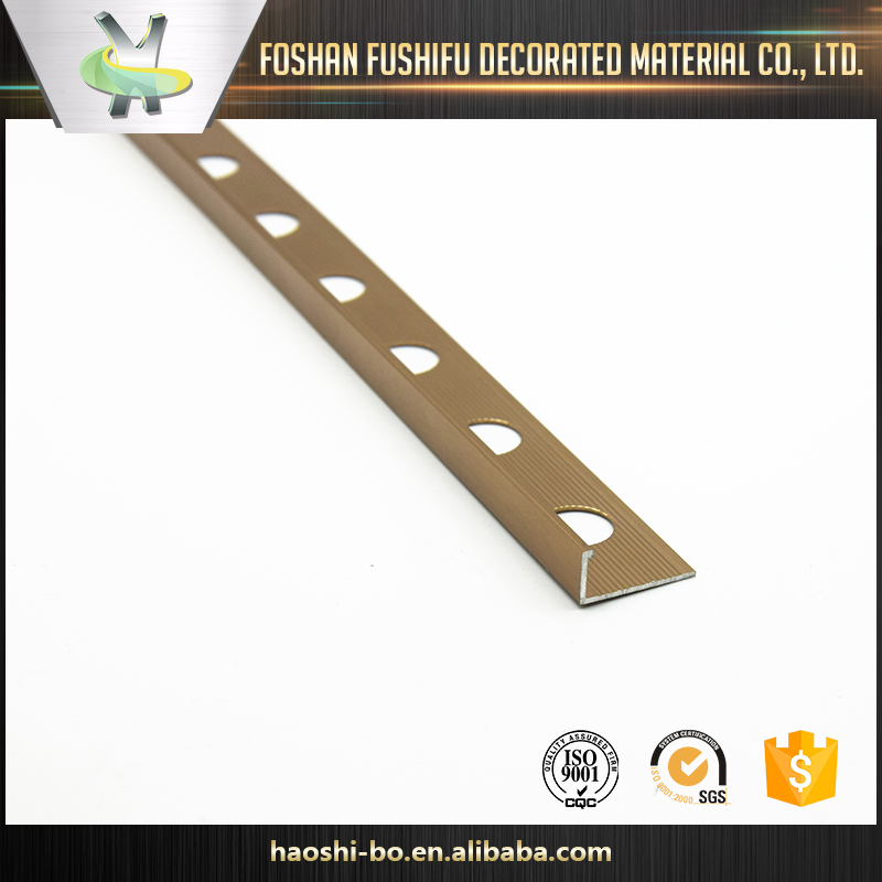china suppliers aluminum l corner tile edge trim